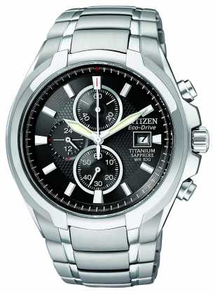 Citizen Mens EcoDrive Titanium CA026052E Watch