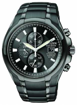 Citizen Mens Eco Drive Titanium CA026559E Watch