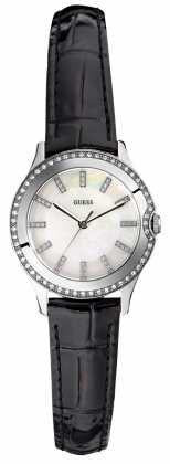 Womens Guess Ladies' Moonbeam Crystal Set W0109L1 Watch