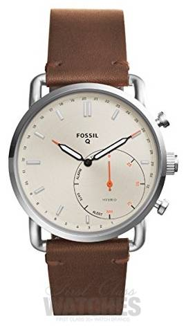 60f5335fe Fossil Mens Q Commuter Leather Strap FTW1150 - First Class Watches™