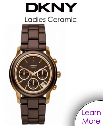 DKNY Ladies Ceramic Watch