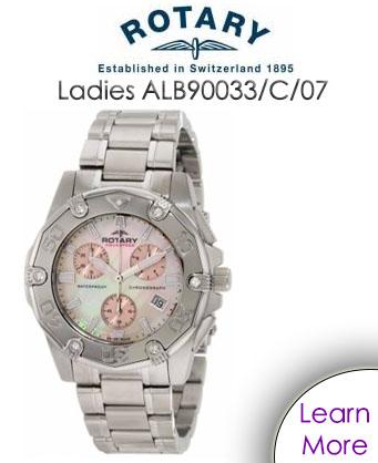 Rotary Ladies ALB90033/C/07 Watch