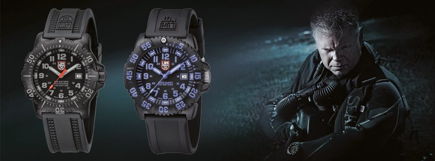 Luminox watches you can see in the dark