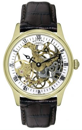 Rotary Gents Mechanical Skeleton