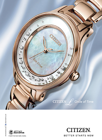 896132806a35 Citizen sunrise watch Circle-of-Time watch. The latest watches for women ...