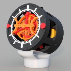 WOW! Look At This Incredible 3D Printed Pocket Watch!