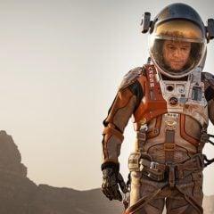 Matt Damon Wears A Hamilton Khaki Navy BeLOWZERO in Martian