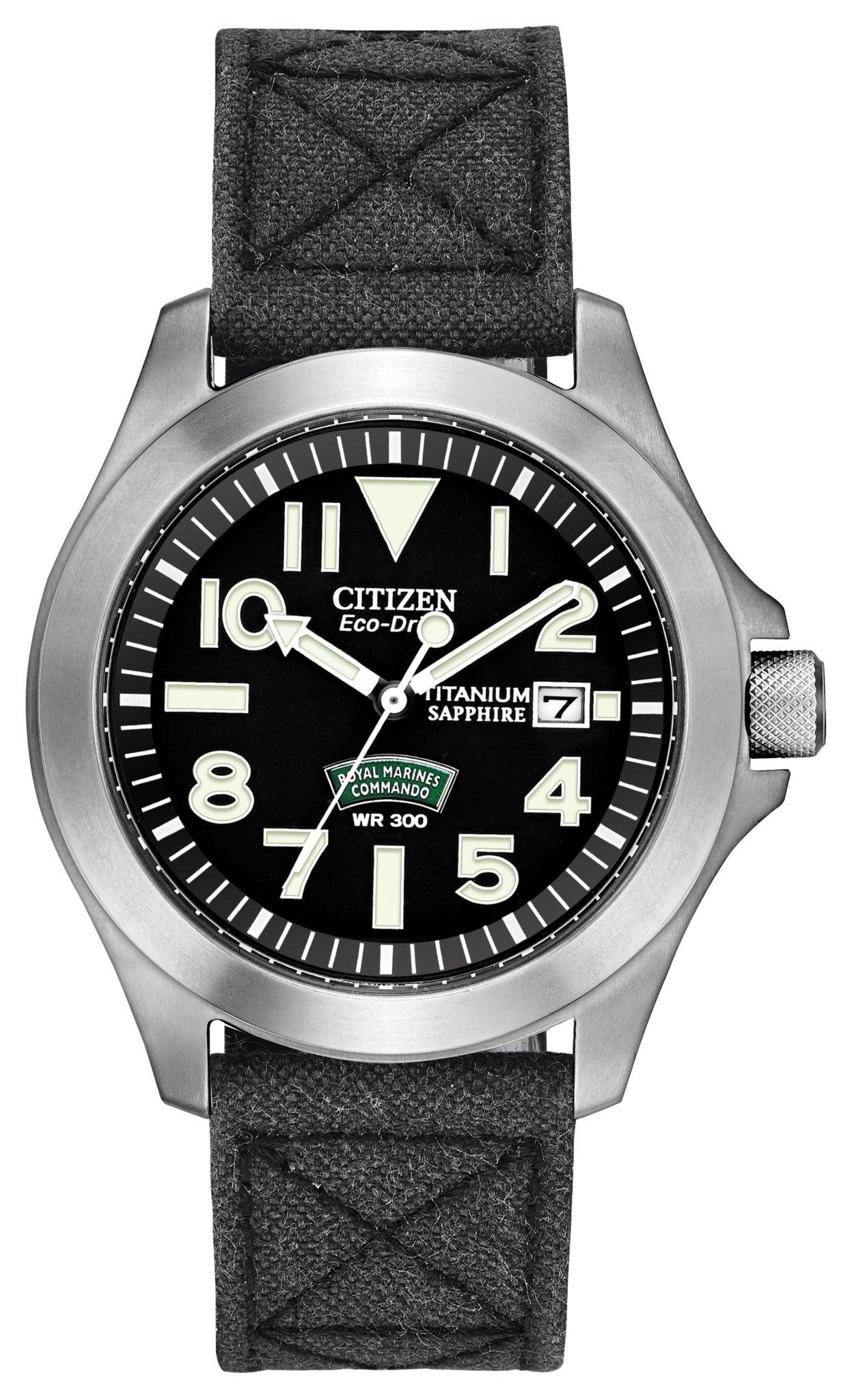2fe38055fd2a Citizen Royal Marines Commando BN0110-06E - First Class Watches™