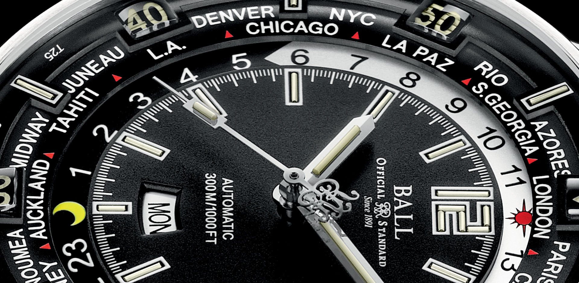 Ball Watches GMT Worldtime gallery 1