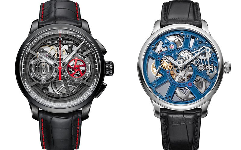 Maurice Lacroix Masterpiece Skeleton Watches