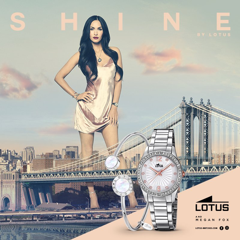 Megan Fox Lotus Watches