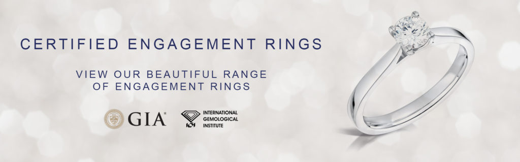 Certified Engagement Rings