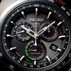 Seiko Astron GPS Solar Limited Edition Giugiaro Design watch