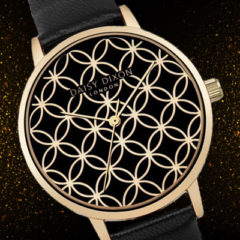 Women's Black and Gold Timepieces for the Month of June