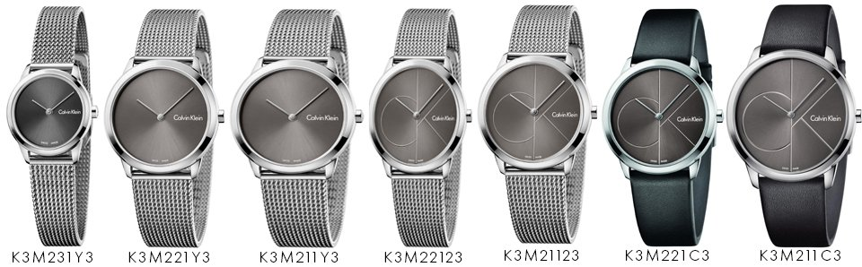 8f073c9b927 calvin klein minimal collection continued - First Class Watches Blog