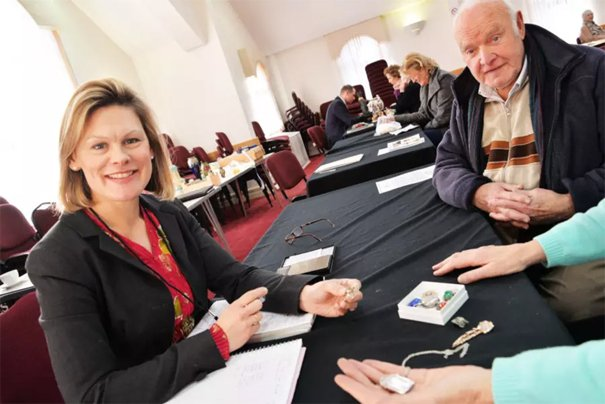 jewellery valuation day