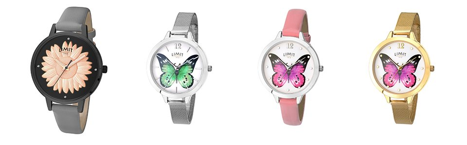limit watches secret garden collection row three