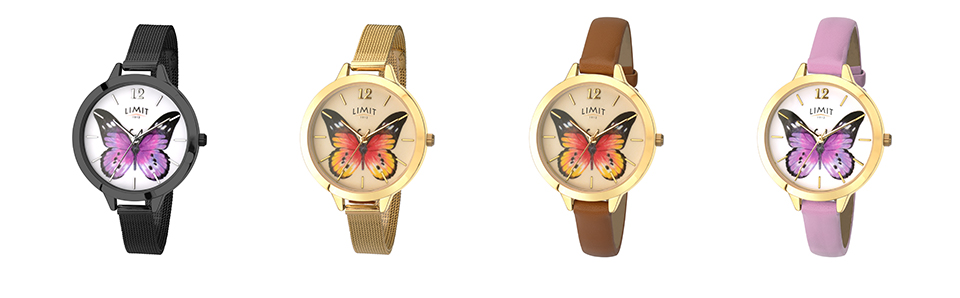 limit watches secret garden collection row two