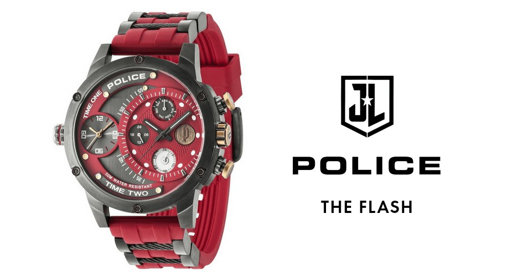 police The Flash Watch