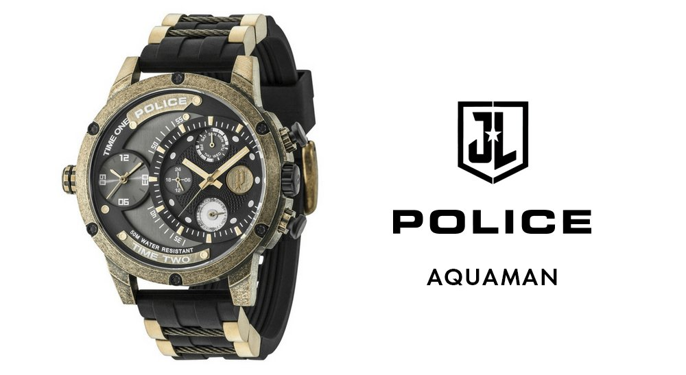 police Aquaman Watch