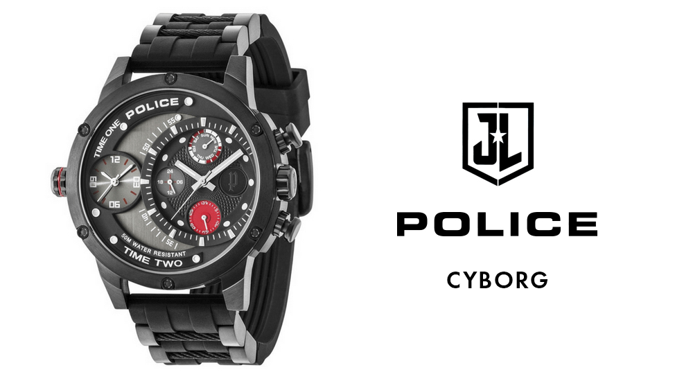 police cyborg watch