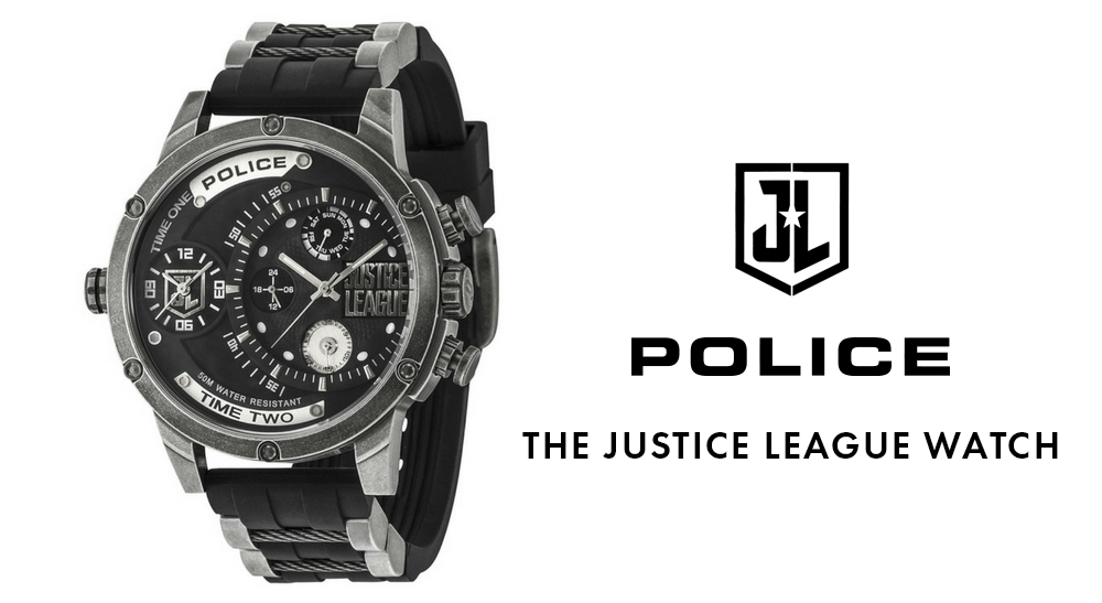 police justice league watch