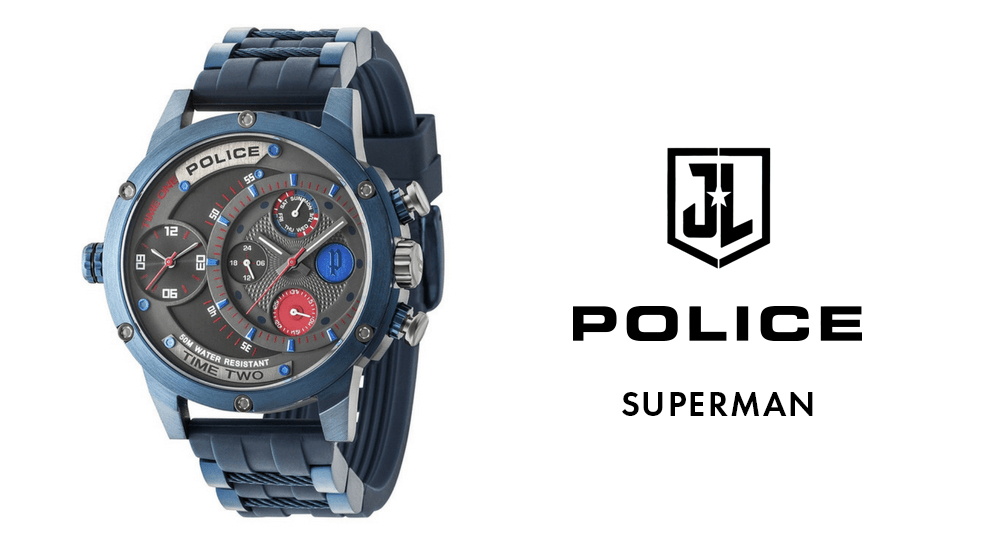 police superman watch