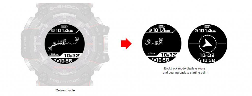 Casio G-Shock Rangeman backtrack