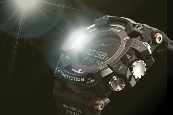 Casio G-Shock Rangeman solar charging
