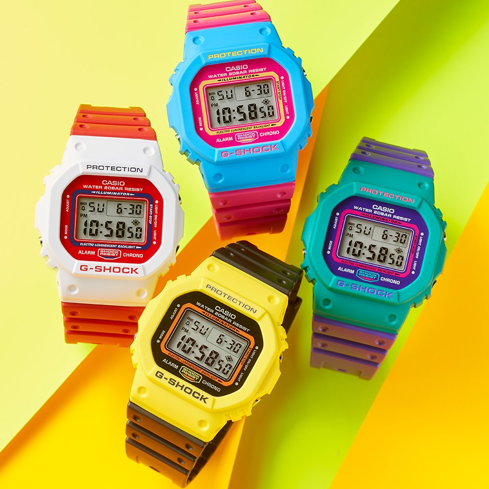 Casio G-Shock Throwback collection