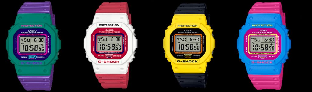 casio throwback collection