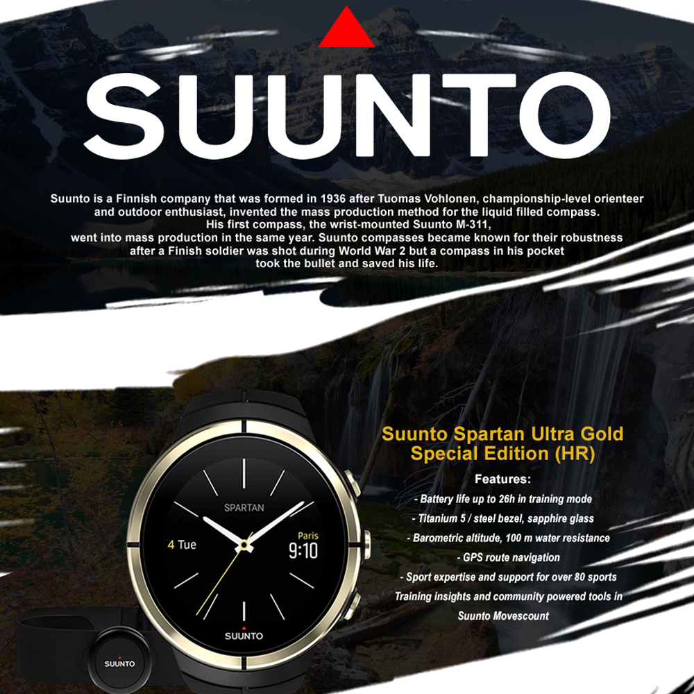 A watch for any sport event