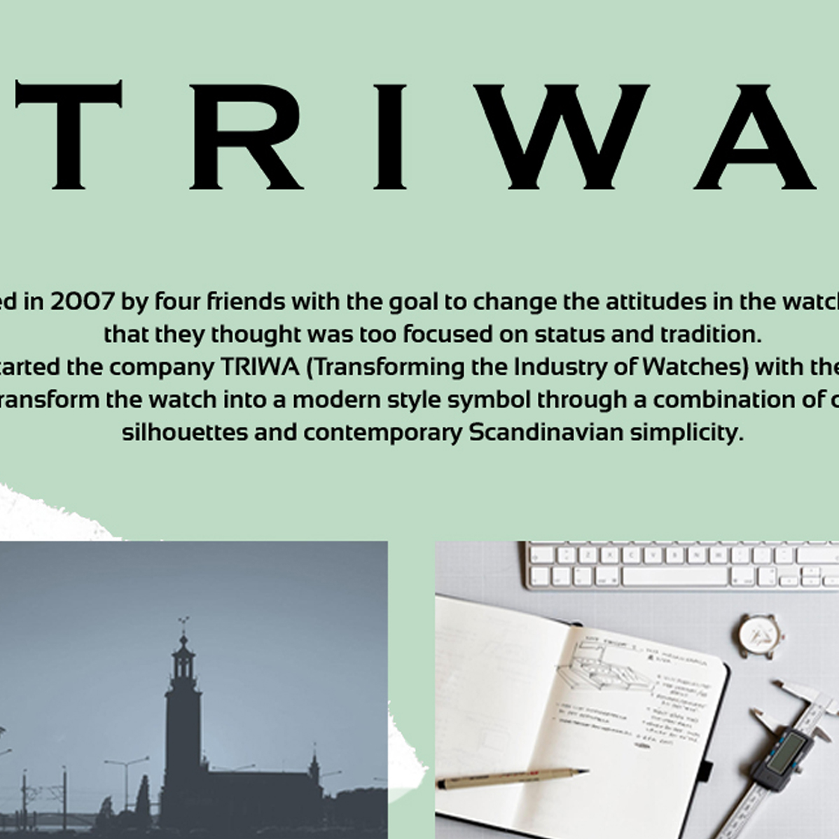 Triwa Collections
