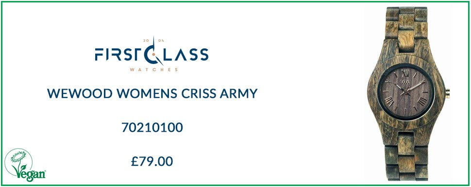 WeWood Womens Criss Army