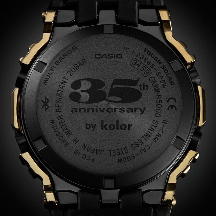 casio kolor colelction baselworld 2018 2