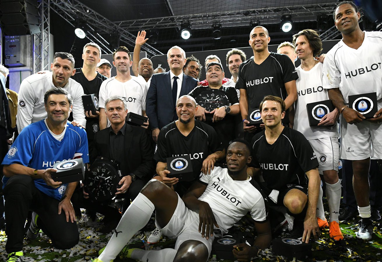 Baselworld hublot football