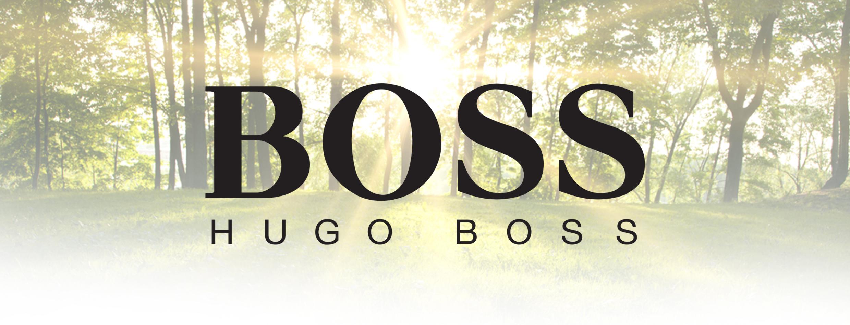 Hugo boss header