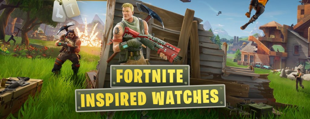 Fortnite Inspired Watches First Class Watches Blog