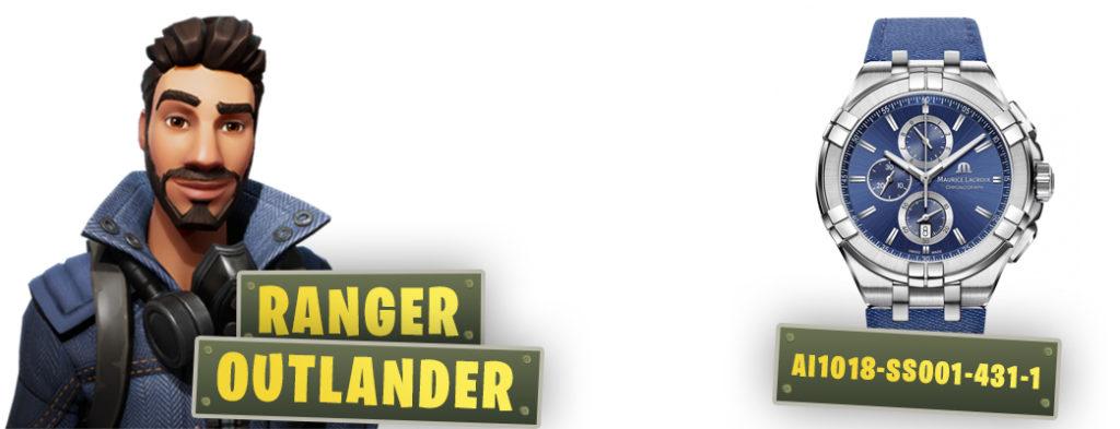 fortnite inspired watches ranger outlander