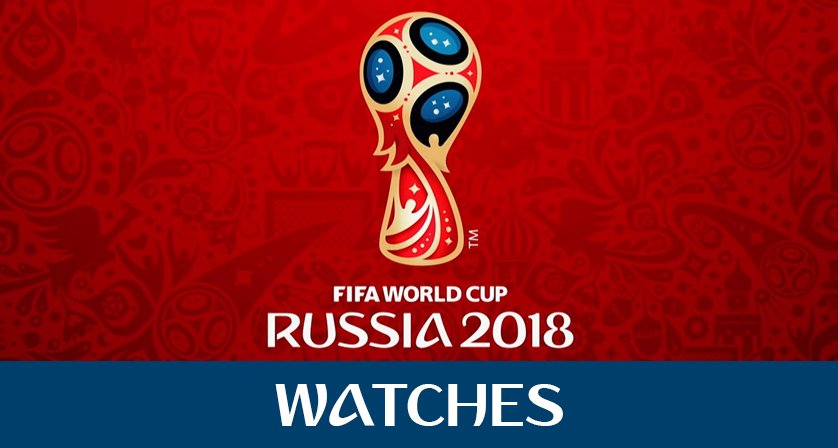 World Cup watches Header