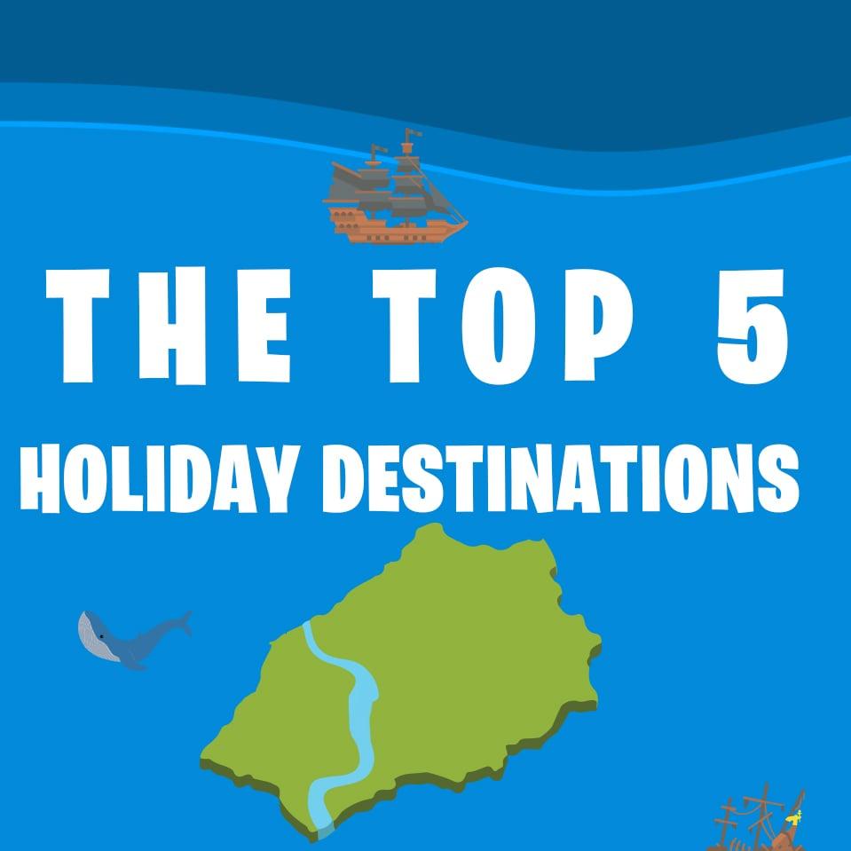 top 5 holiday destinations thumbnail