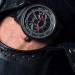 Milano black & red automatic filippo loreti watch