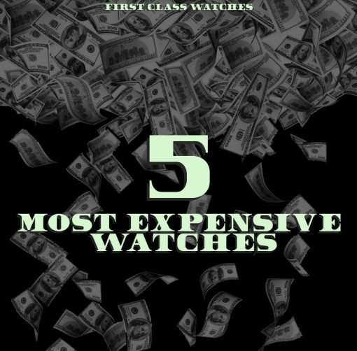 5 Most Expensive Watches header