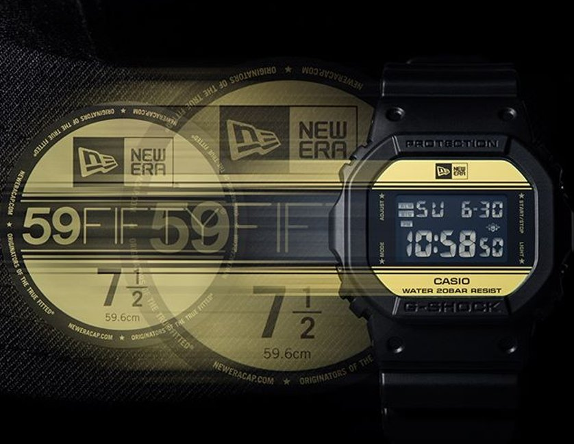3bb5aae13f2644 Limited Edition New Era x G-Shock - First Class Watches Blog