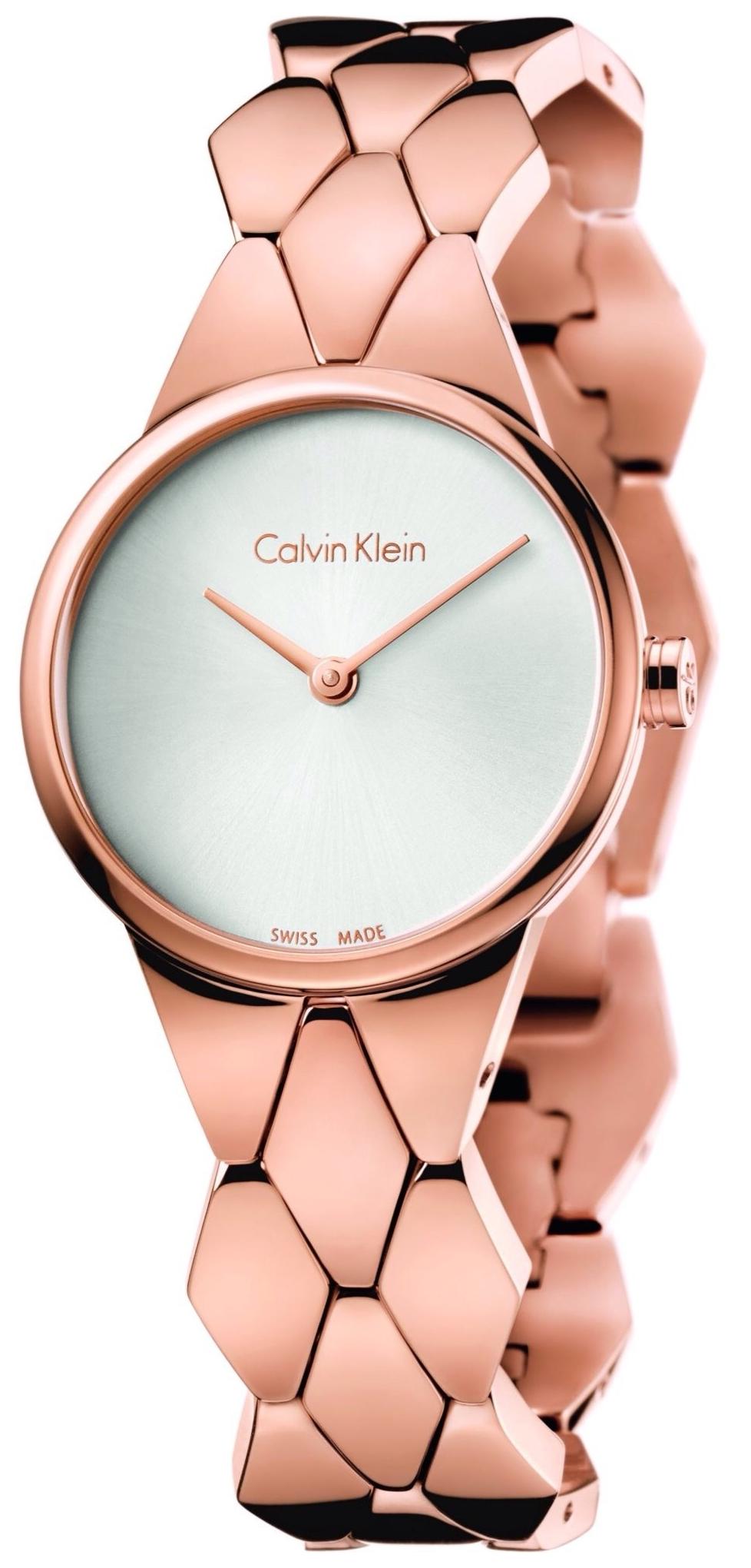 Rose gold Calvin Klein