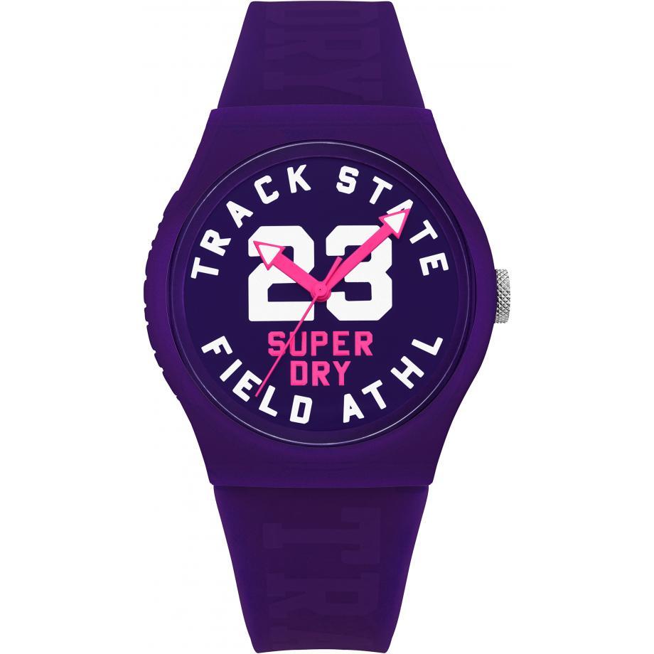 Superdry purple watch