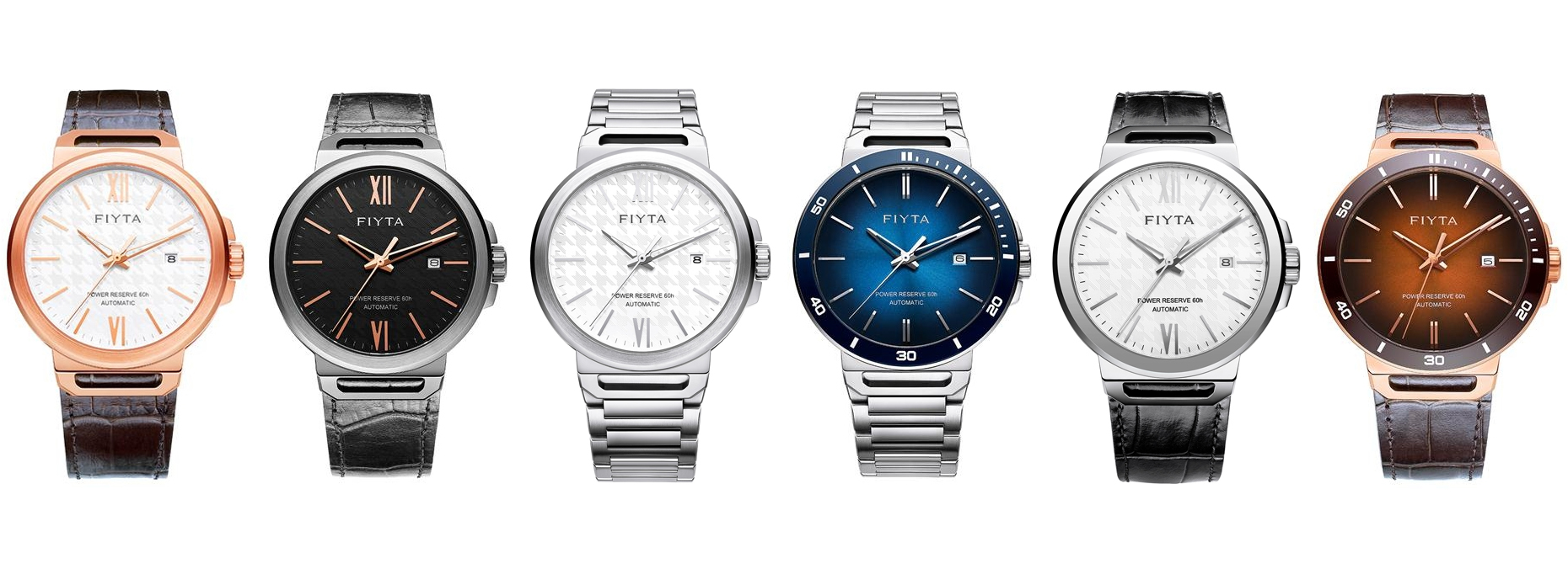 FIYTA Watches Solo Collection watches list