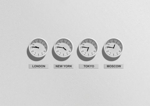 pilot watches and time zones