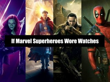 If Marvel Superheroes Wore Watches