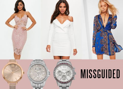 Missguided Lookbook: Watches, Shoes and Dresses